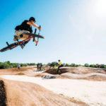 BMX bike tracks coated with DirtGlue industrial soil stabiliser