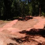 DirtGlue polymer coating for pump Track surfaces