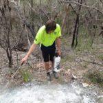 Dirtglue regular eco friendly soil stabiliser erosion control on paths