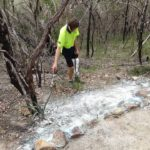 Dirtglue regular eco friendly soil stabiliser erosion control on slopes