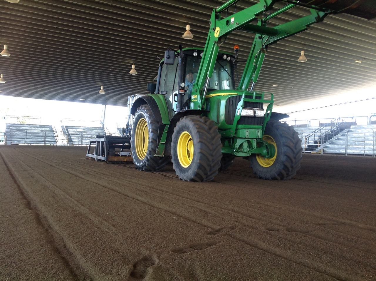 dustless horse cattle arena dust suppression
