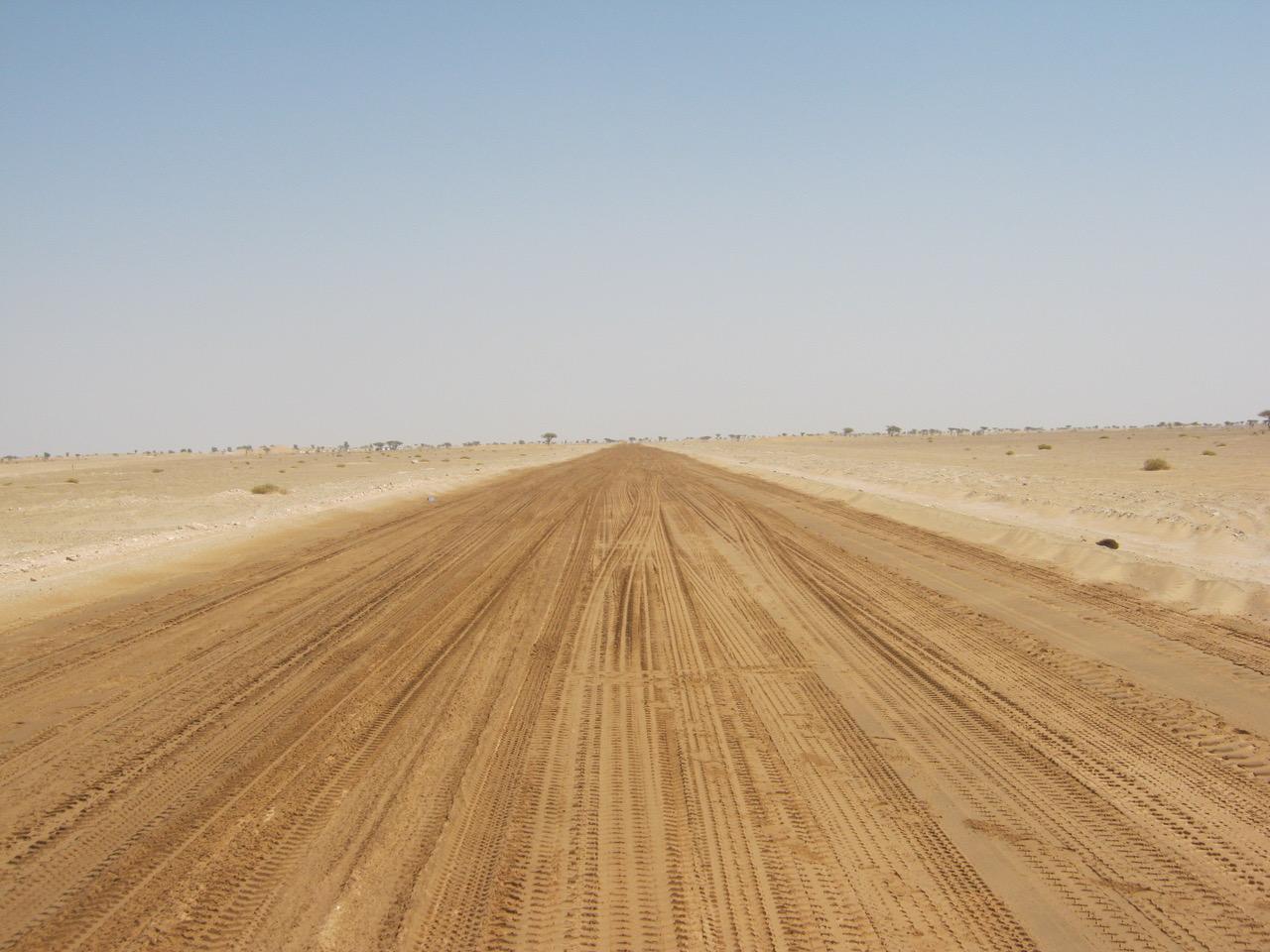 Dustless settles dusgt on unsealed roads