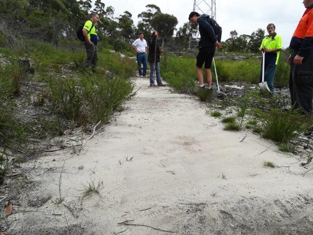 DirtGlue industrial environmentally friendly surface for BMX tracs,k bike and walking tracks