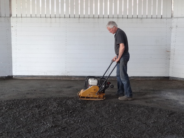 DirtGlue industrial can be applied to all types of aggregates for natural pavement surface