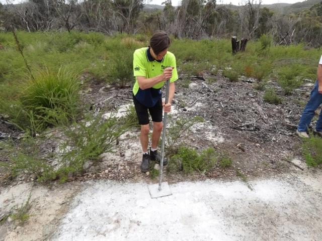 DirtGlue industrial eco friendly surface bike and walking paths