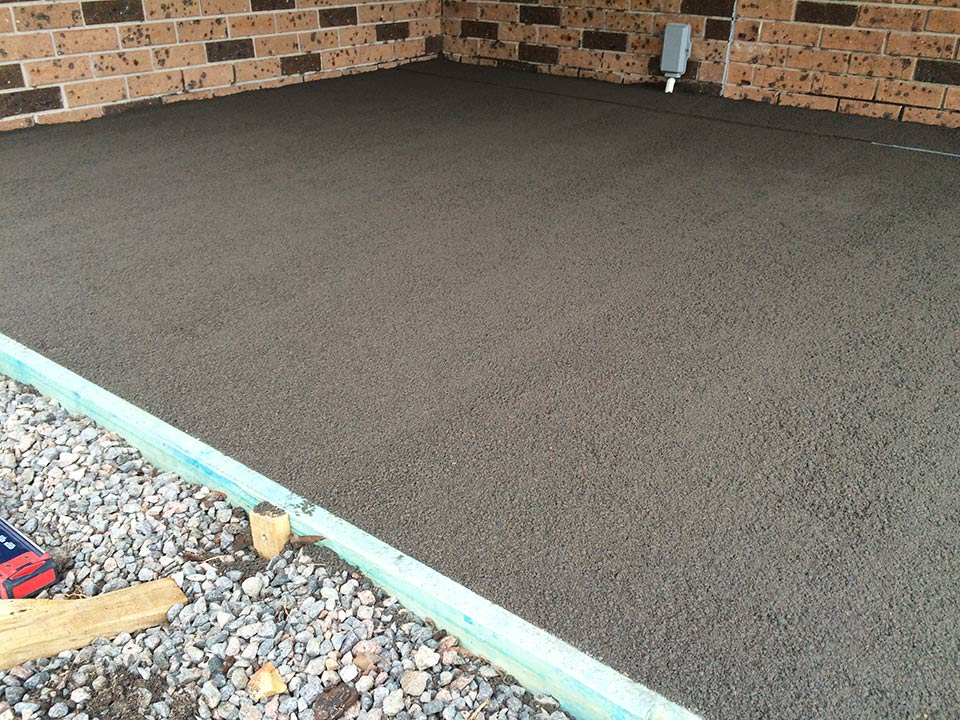 DirtGlue industrial combined with agregate makes a durable and natural pavement surface