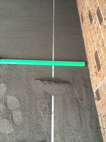 DirtGlue industrial an engineered  hardened surface for car parking, driveways and carports