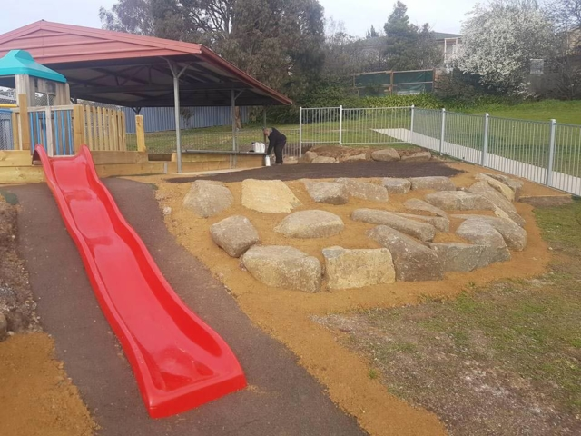 DirtGlue industrial environmentally friendly durable non-toxic surface for childrens play areas