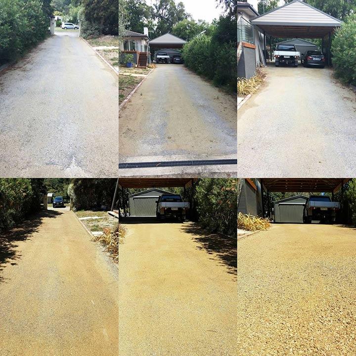 DirtGlue industria eco-friendly durable low moisture surface for driveways